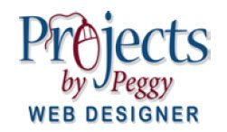 Projects by Peggy: Web Designer