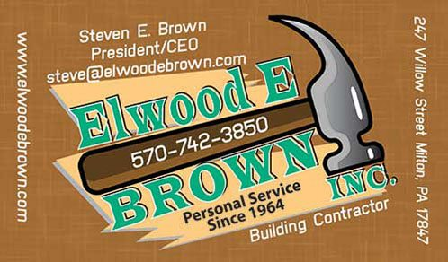 Elwood E Brown Business Card