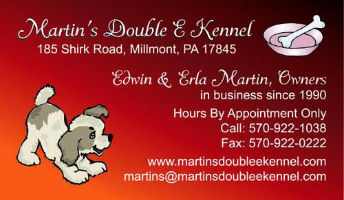 Martin's Double E Kennel