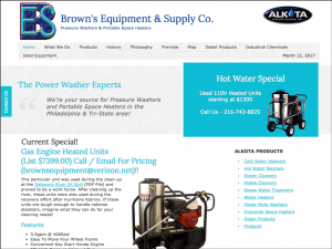 Browns Equipment & Supply Company