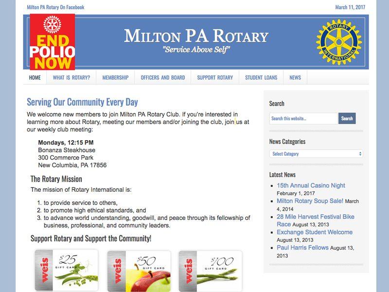 Milton PA Rotary Club