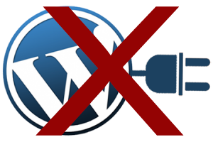 Wordpress Plugins Not Recommended