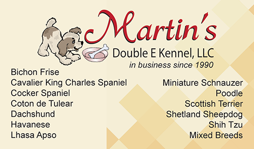 Martin's Double E Kennel, LLC - back